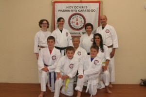 Oneonta students with Sensei (June 2016)